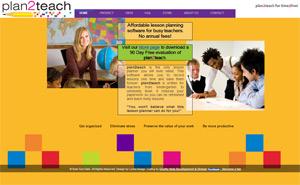 plan2teach - teacher planning software