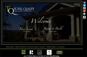 Total Quality Home Builders - Luxury, custom homebuilder on Lake Keowee
